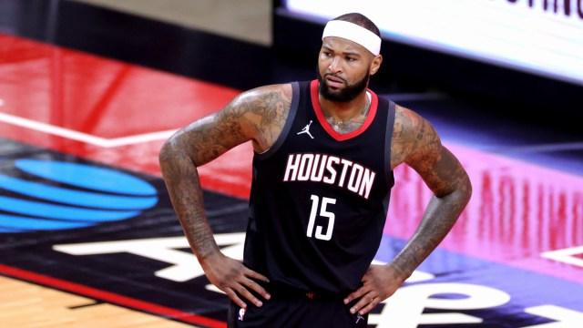 Houston Rockets center DeMarcus Cousins