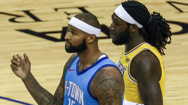 NBA free agent center DeMarcus Cousins, Los Angeles Lakers forward Montrezl Harrell