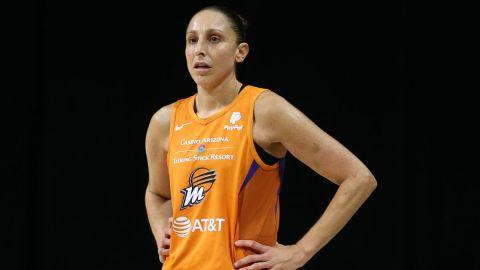 Phoenix Mercury guard Diana Taurasi