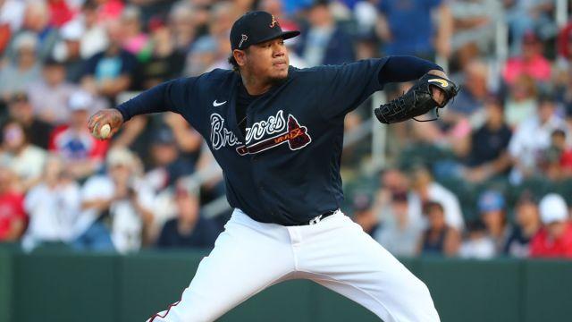 Baltimore Orioles starting pitcher Felix Hernandez