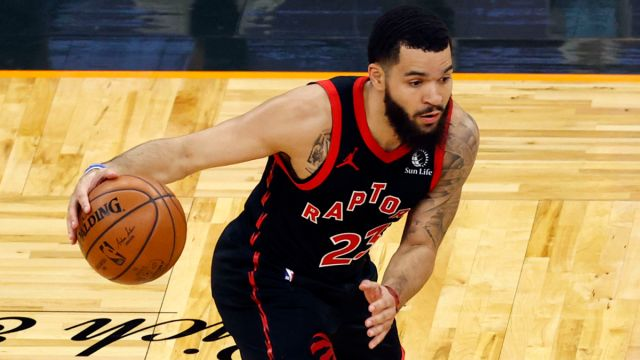 Toronto Raptors guard Fred VanVleet