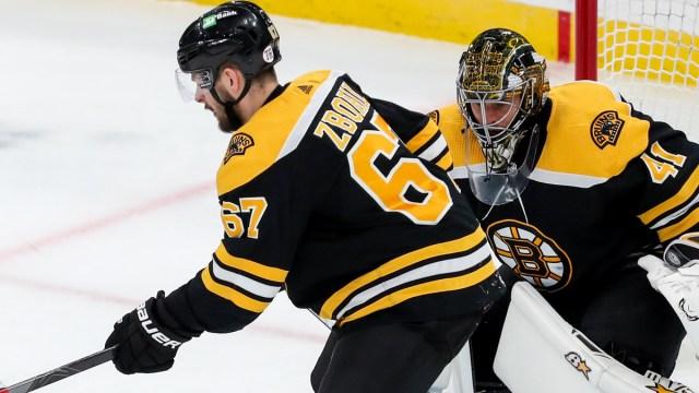 Boston Bruins defenseman Jakub Zboril