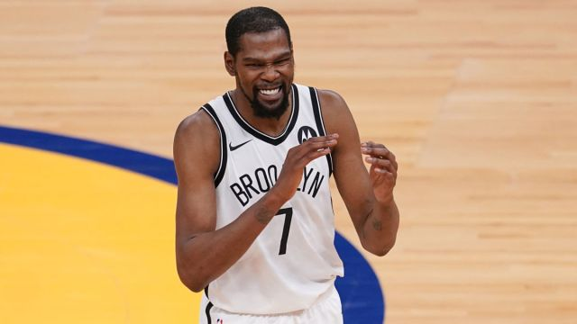 Brooklyn Nets forward Kevin Durant