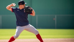 Boston Red Sox infielder Kike Hernandez
