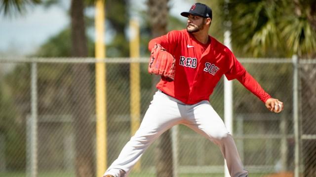Boston Red Sox starting pitcher Martin Peréz