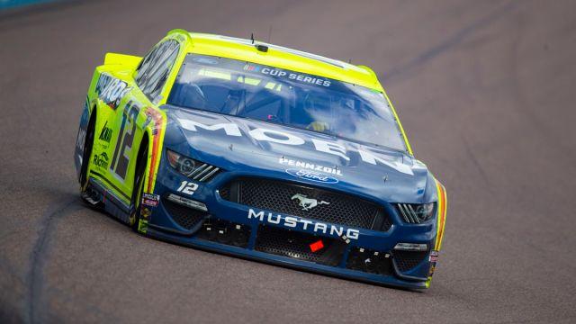 NASCAR Bush Clash pole sitter Ryan Blaney