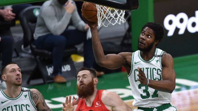 Boston Celtics forward Semi Ojeleye