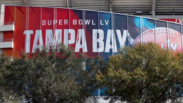 Super Bowl LV site Raymond James Stadium