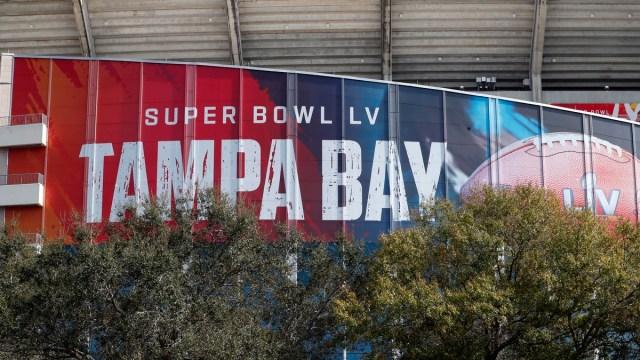 Super Bowl LV at Raymond James Stadium