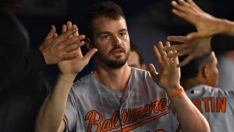 Baltimore Orioles designated hitter Trey Mancini