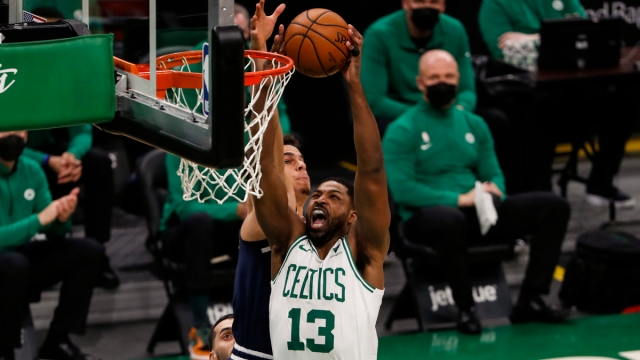 Boston Celtics forward Tristan Thompson