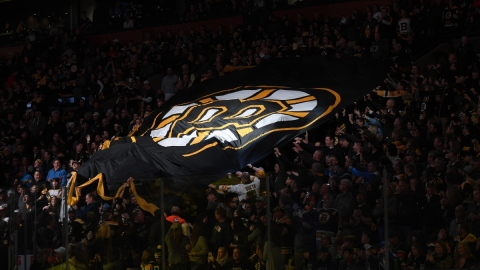Boston Bruins banner