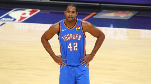 Oklahoma City Thunder center Al Horford