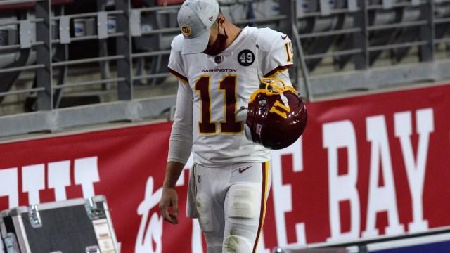 NFL quarterback Alex Smith