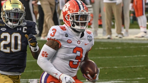 Clemson wide receiver Amari Rodgers