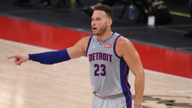 NBA free agent center Blake Griffin