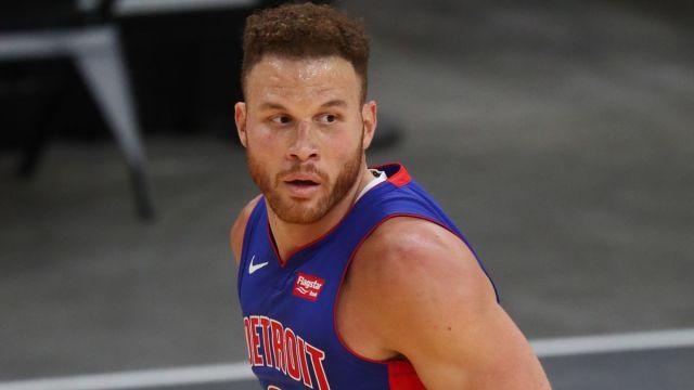 Brooklyn Nets forward Blake Griffin