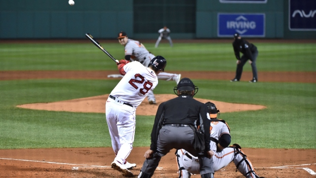 Boston Red Sox first baseman Bobby Dalbec (29)