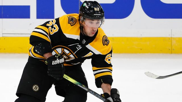 Boston Bruins winger Brad Marchand