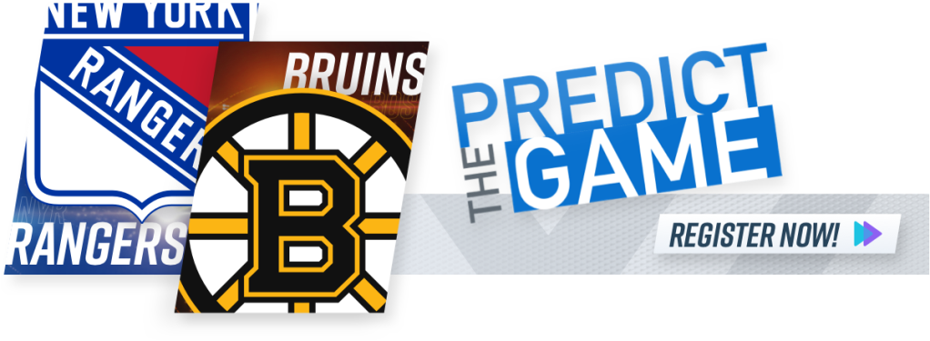 Predict the Game Bruins Rangers