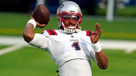 Patriots QB Cam Newton