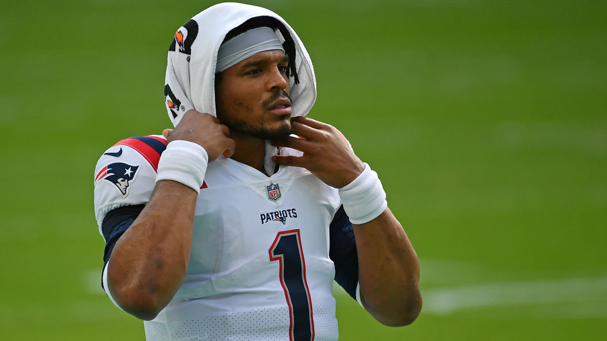 NFL Writer Predicts Patriots Re-Sign Cam Newton, Draft This QB - NESN.com
