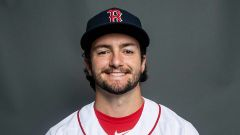 Boston Red Sox pitcher Connor Seabold