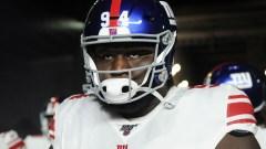 New York Giants defensive end Dalvin Tomlinson
