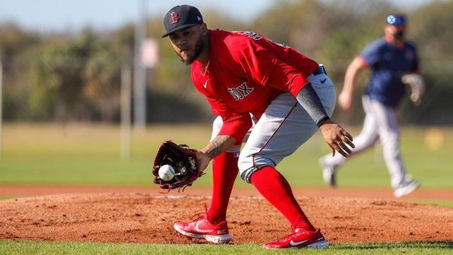 Boston Red Sox pitcher Darwinzon Hernandez