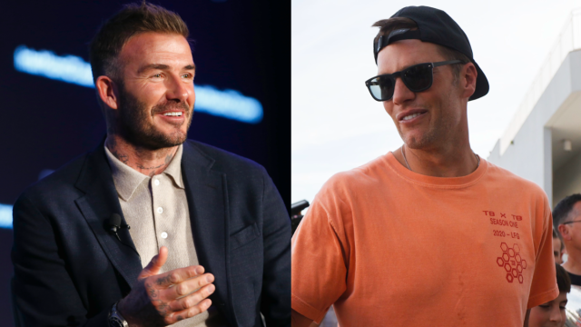 David Beckham, Tom Brady