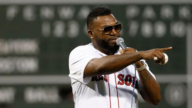 Former Boston Red Sox designated hitter David Ortiz