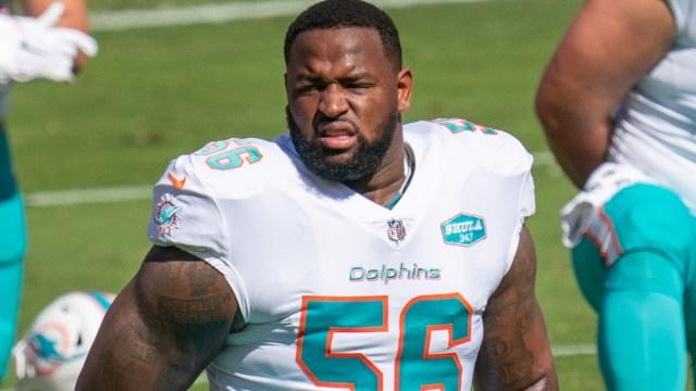 New England Patriots defensive tackle Davon Godchaux