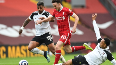 Liverpool forward Diogo Jota (20)