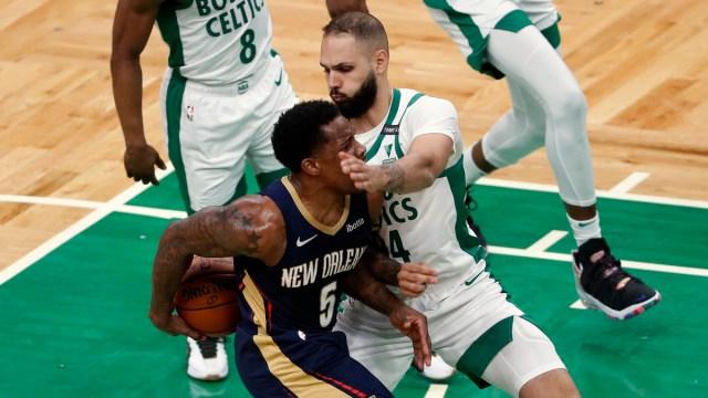 Boston Celtics Guard Evan Fournier