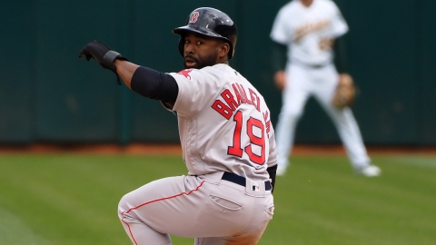 Milwaukee Brewers Outfielder Jackie Bradley Jr.