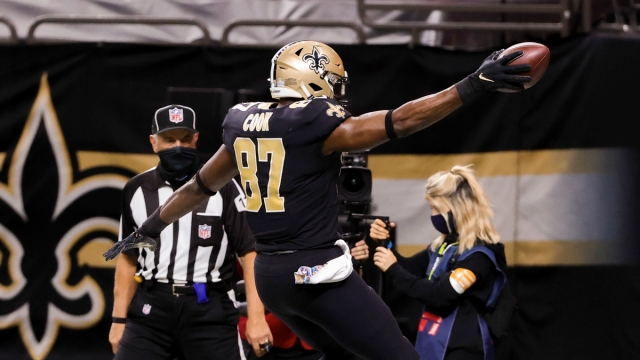 NFL Tight End Jared Cook