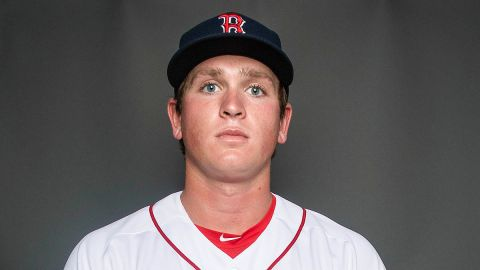 Boston Red Sox pitcher Jay Groome