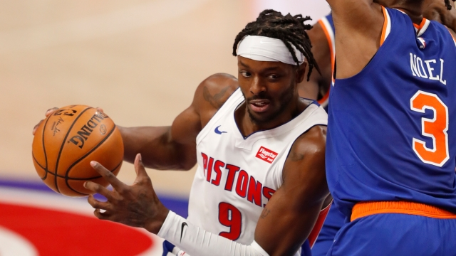 Detroit Pistons forward Jerami Grant