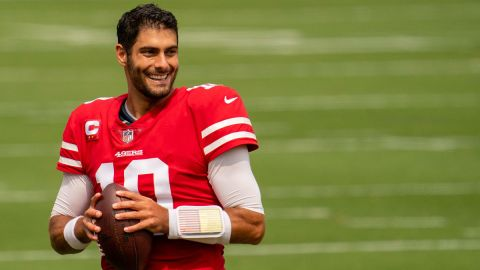 San Francisco 49ers quarterback Jimmy Garoppolo