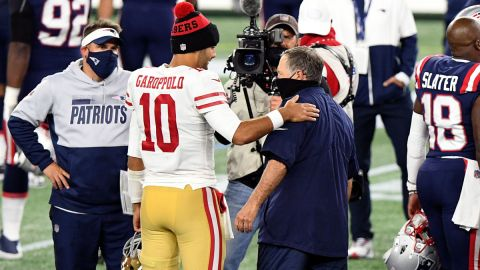 Jimmy Garoppolo, Bill Belichick