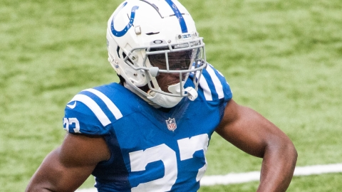 Indianapolis Colts defensive back Kenny Moore II