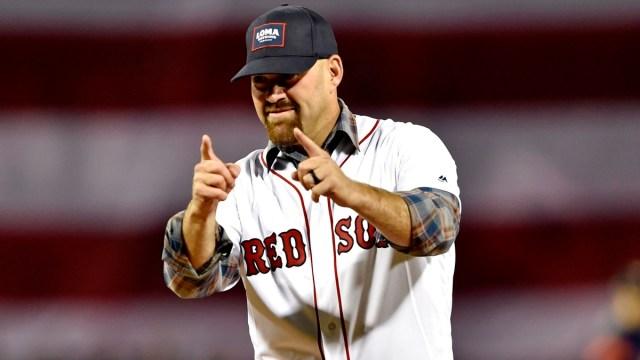 Former Boston Red Sox First Baseman Kevin Youkilis
