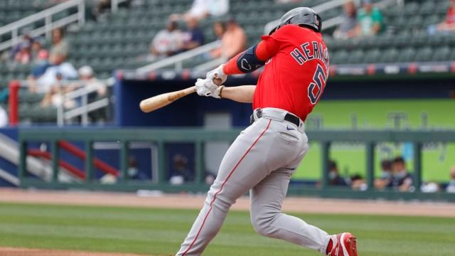 Boston Red Sox Utility Player Kiké Hernández