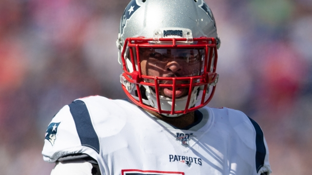 New England Patriots middle linebacker Kyle Van Noy