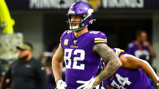 Free Agent NFL Tight End Kyle Rudolph