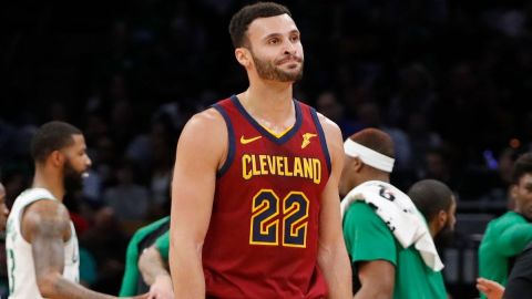 Cleveland Cavaliers forward Larry Nance Jr.