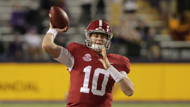 Alabama quarterback Mac Jones