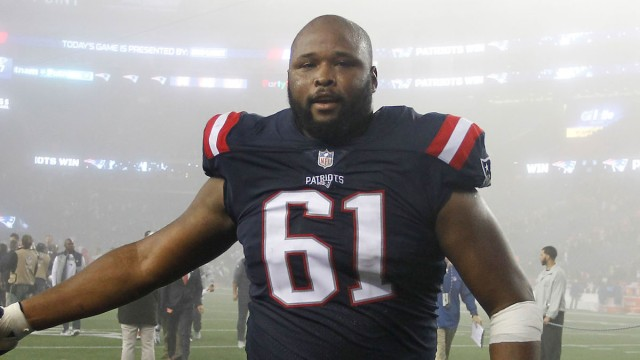 Texans, and former Patriots, right tackle Marcus Cannon