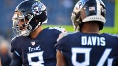 Titans quarterback Marcus Mariota, wide receiver Corey Davis could join the Patriots this offseason