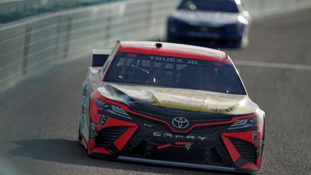 NASCAR Cup Series driver Martin Truex Jr. (19)